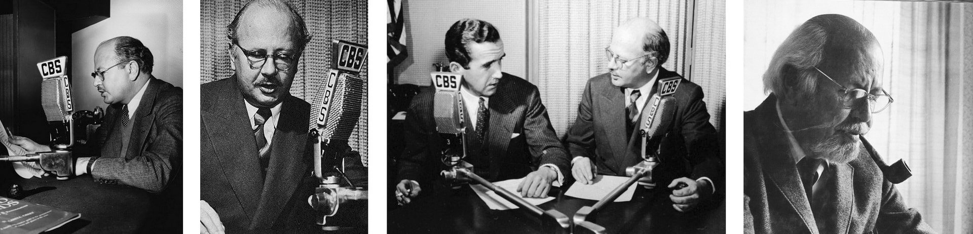 Уильям Ширер - корреспондент CBS WIlliam Shirer
