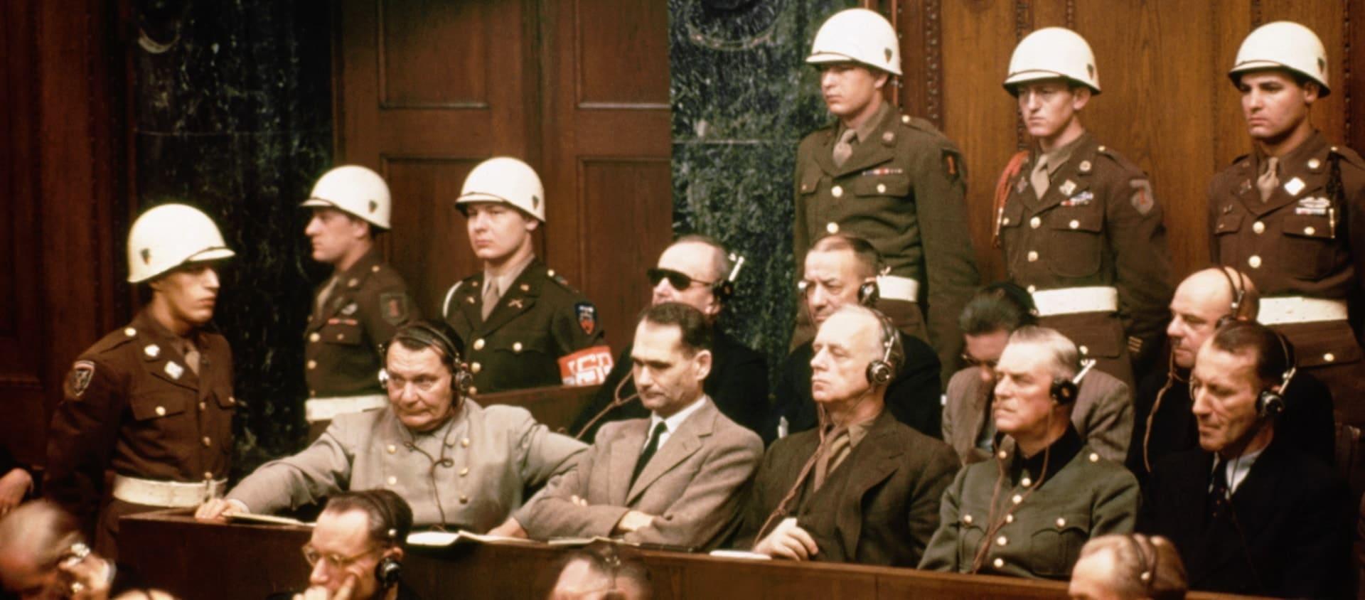 Нюрнбергский трибунал 1946