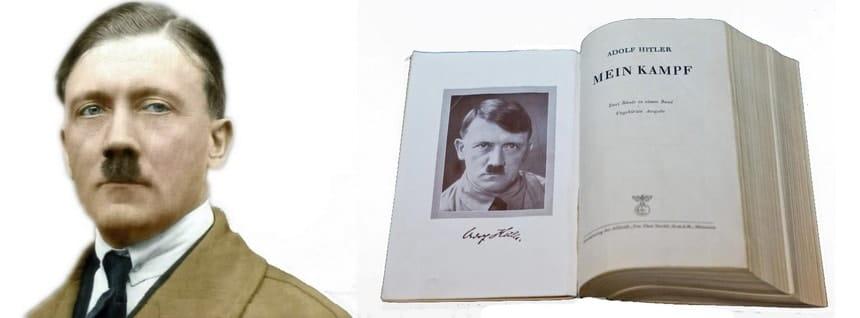 Гитлер и книга Mein Kampf - источник «Взлет и падение Третьего рейха»