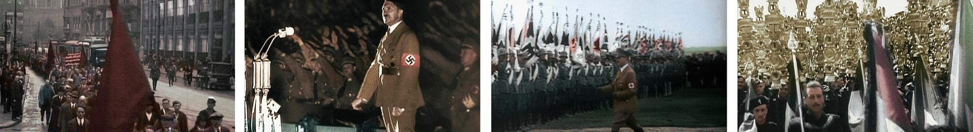 Цветная хроника Третьего рейха