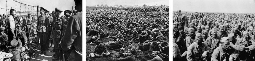 Окруженные советские армии - военнопленные СССР