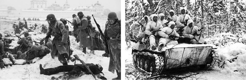 Наступление на Москву декабрь 1941