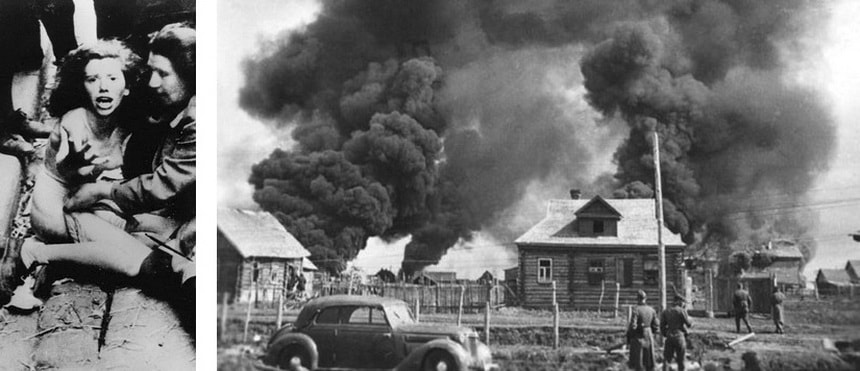 Дикий Восток - наступление Вермахта