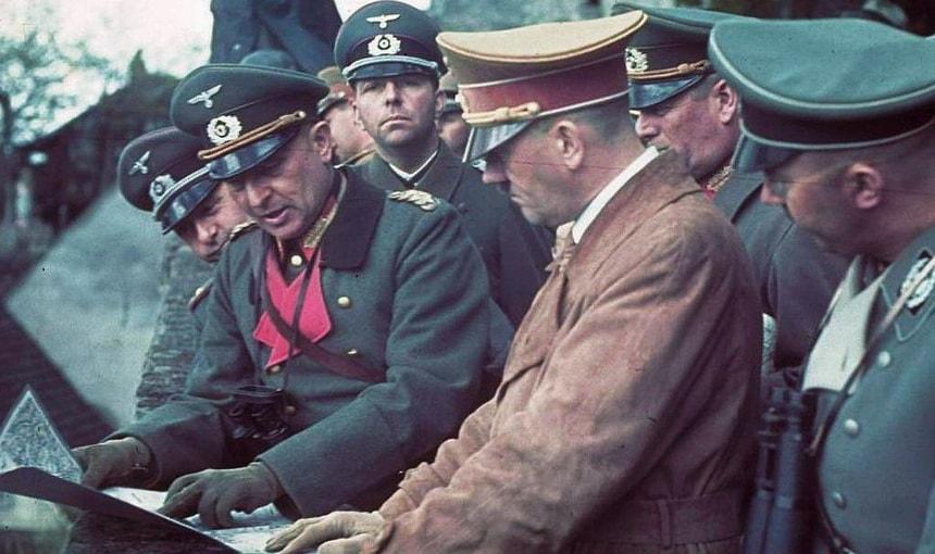 Генералы Гитлера - оперативное совещание