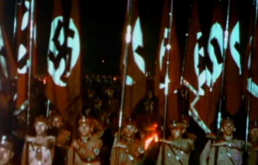 Факельное шествие в Берлине 1933