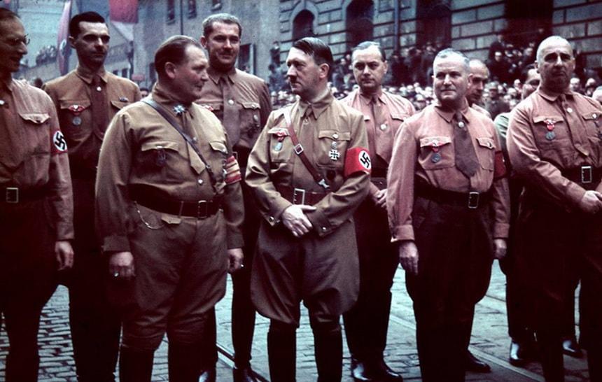 Цветная хроника Нацистского режима