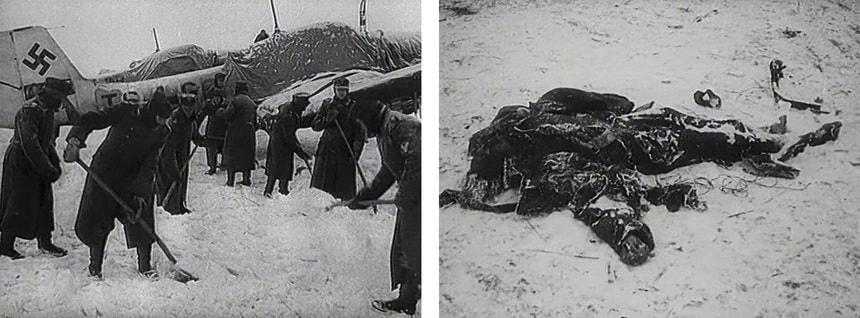 Замерзающая под Сталинградом армия Паулюса