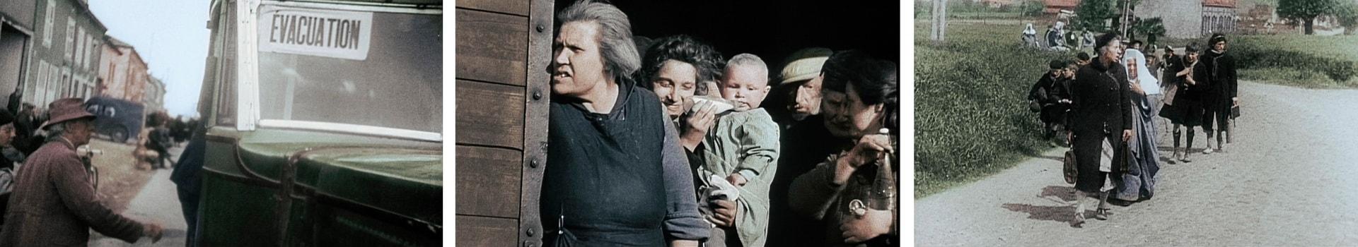 Эвакуация гражданского населения 1940