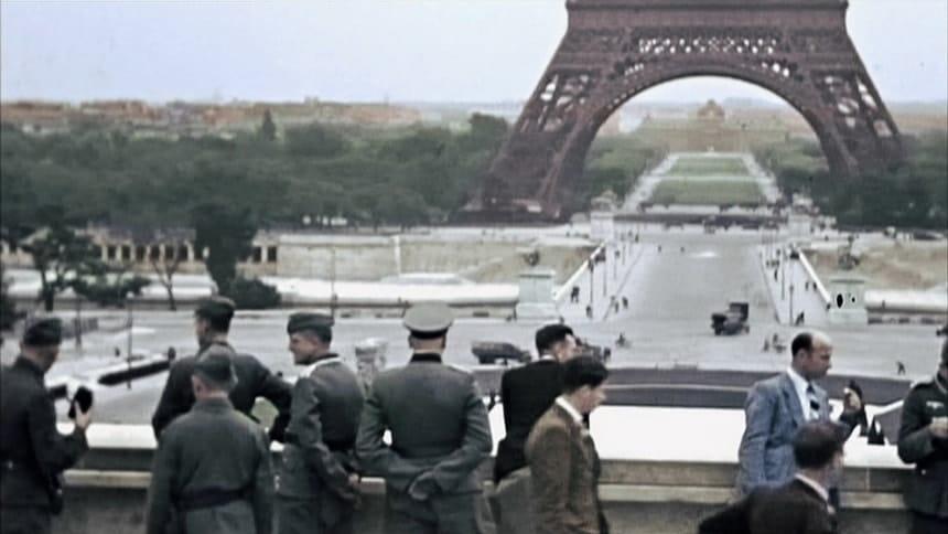 Немецкая армия в Париже 1940