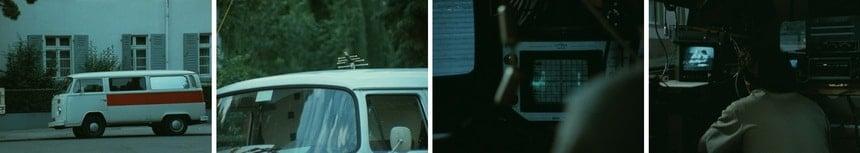 Фургон фольцваген - скрытая съемка нцистов