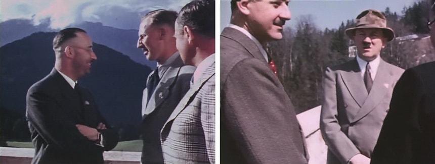 Адольф Гитлер в цвете в Берхдесгадене