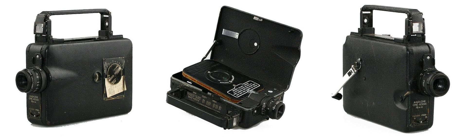 Первая цветная видеокамера Kodak Cinema