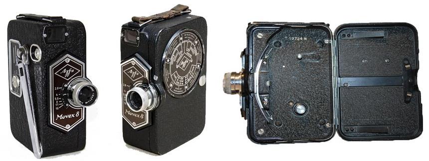 Первая цветная немецкая камера Agfa Movex 8