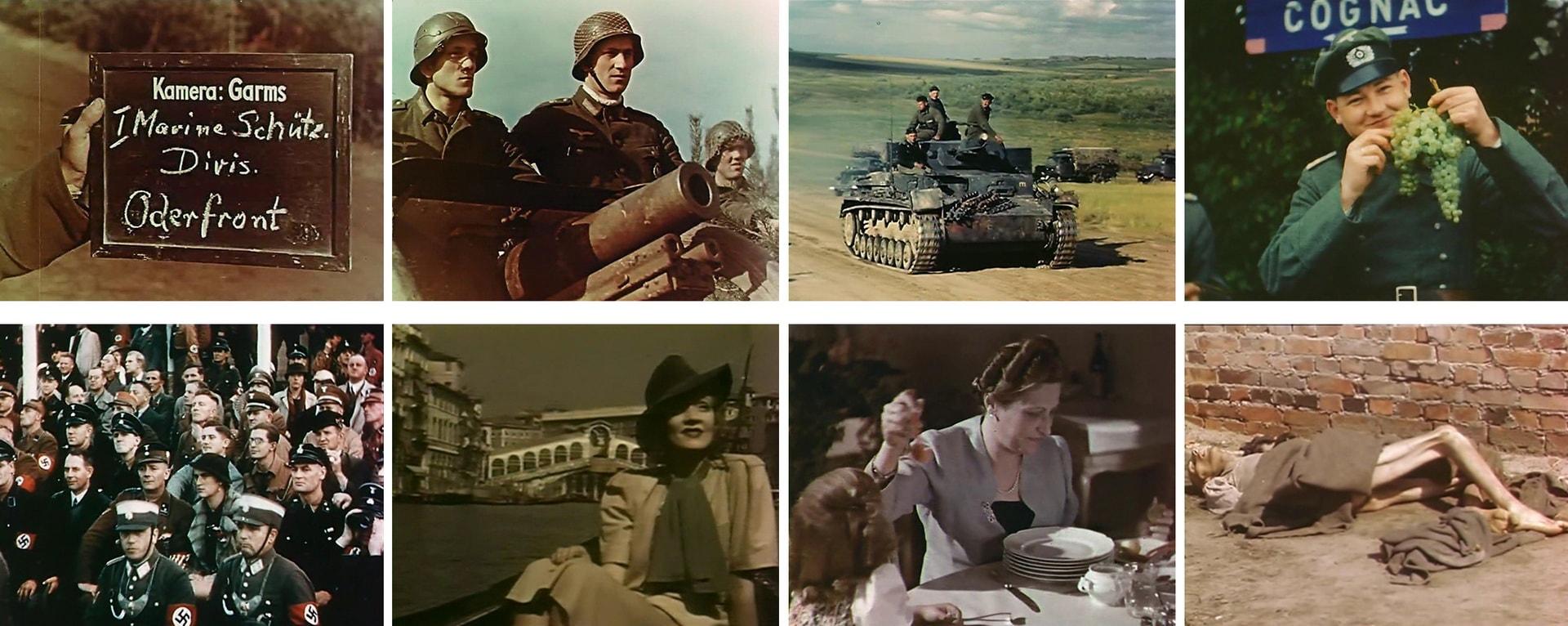 Цветная кинохроника Третьего рейха 1937-1945