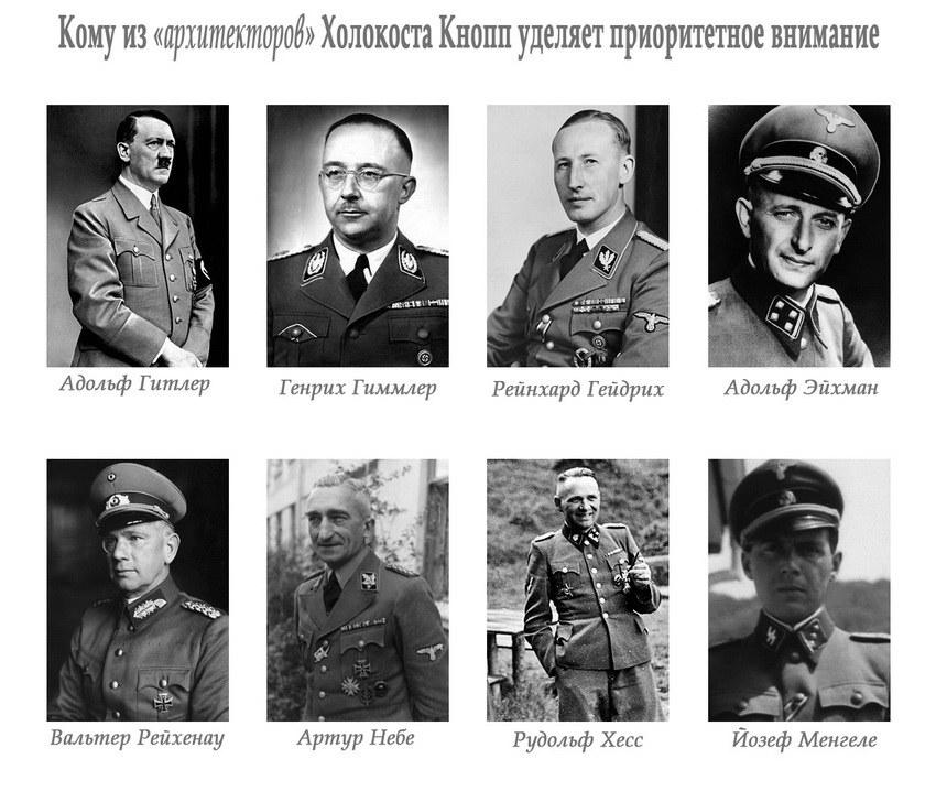 Архитекторы Холокоста по мнению Кноппа
