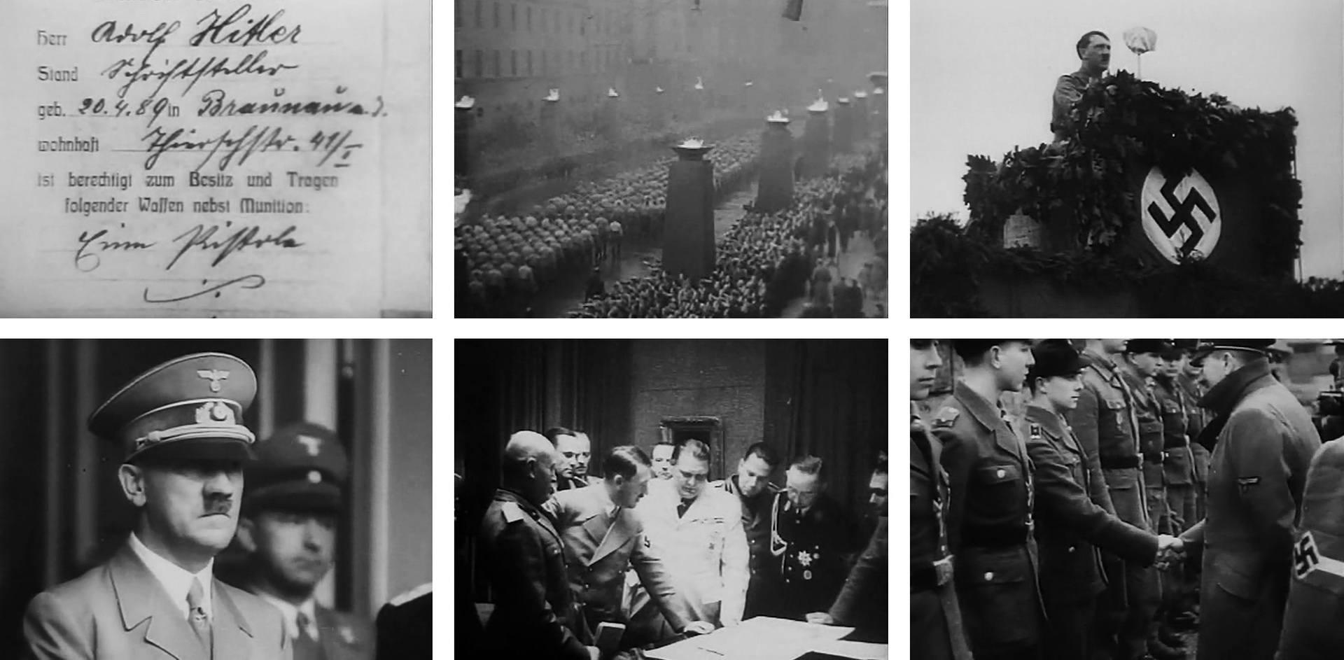 Скриншоты из фильма Hitler Eine Karriere