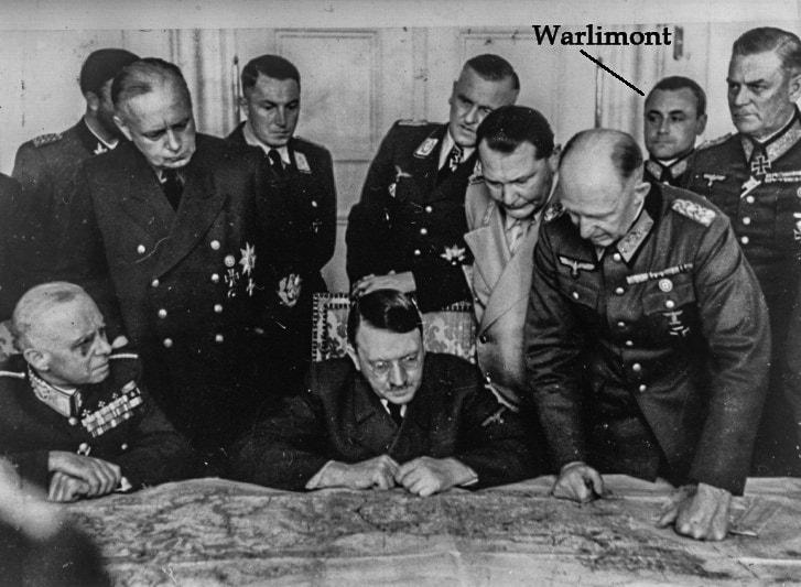 Вальтер Варлимонт в ставке Гитлера
