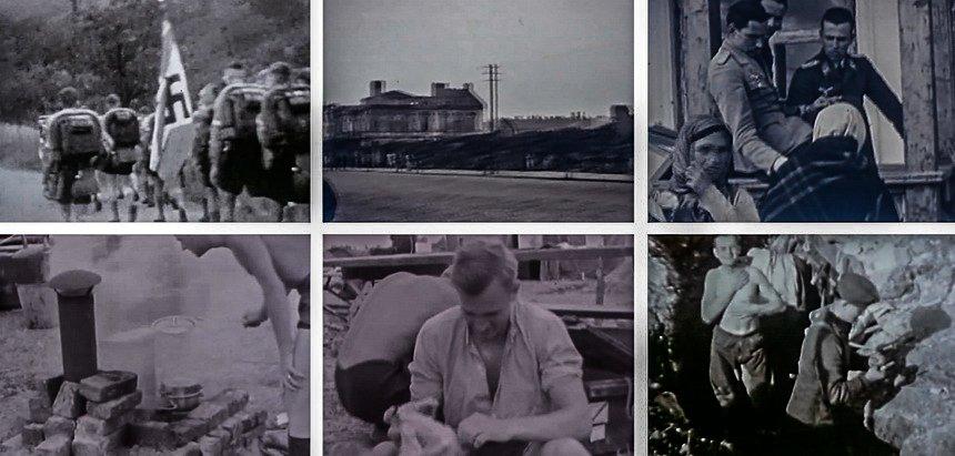 Что попало в кадр любительской хроники Второй Мировой