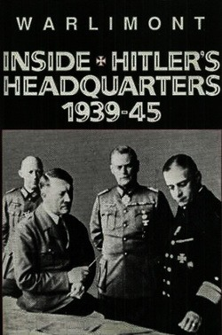 Вальтер Варлимонт - Воспоминания немецкого генерала