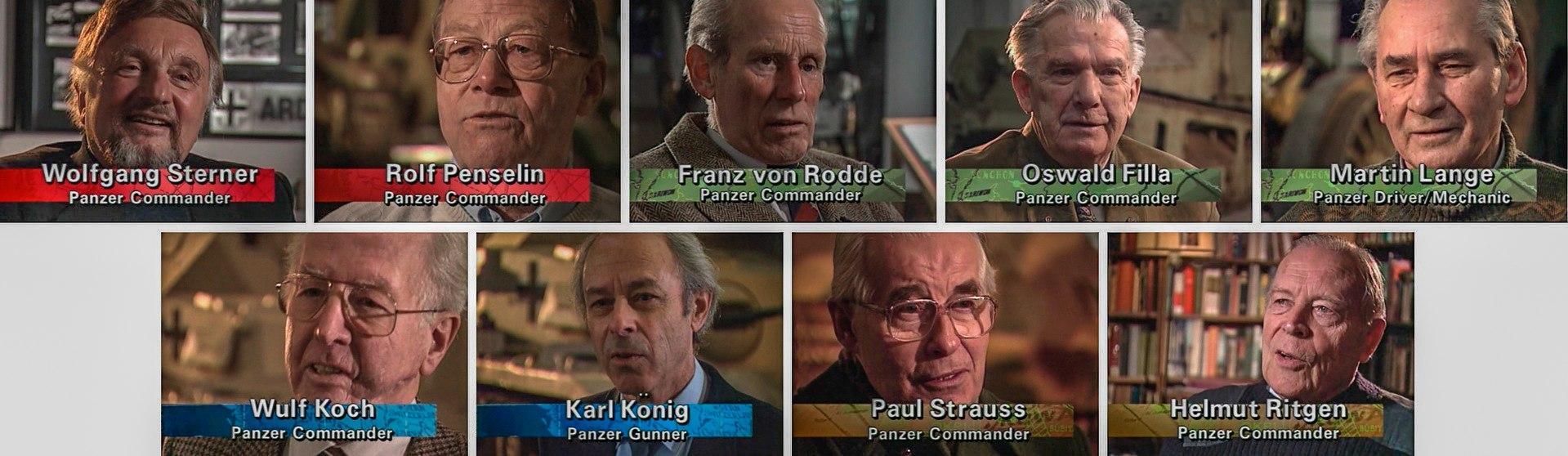 Командиры и члены танковых экипажей Германии