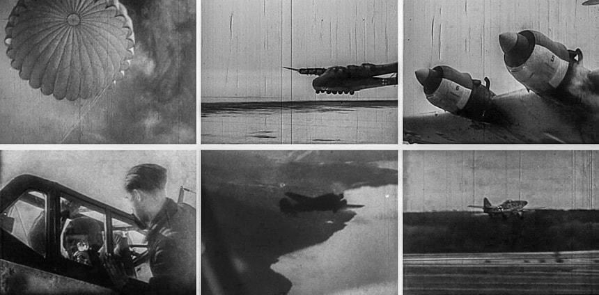 Кадры ВВС германии во Второй Мировой