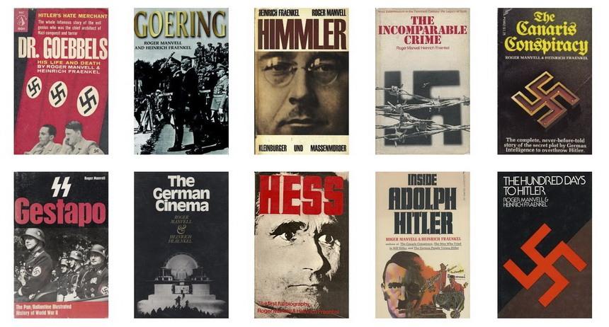 Мэнвелл и Френкель - список книг по Второй Мировой