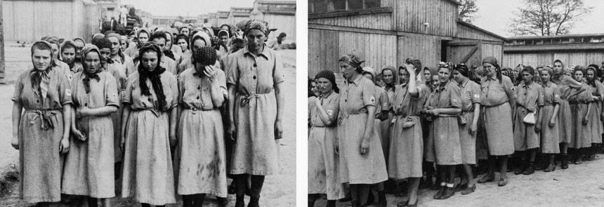 Женский рабочий лагерь Освенцим
