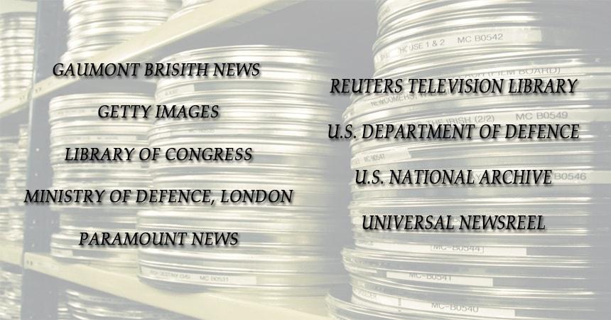 Военные архивы кинопленок