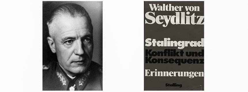 Роль генерала Зейдлица в немецкой группировке на Волге - Катастрофа на Волге
