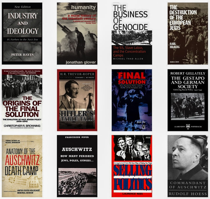 Книги по истории окончательного решения еврейского вопроса