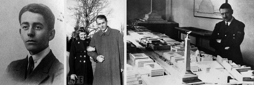 Альберт Шпеер воспоминания - личный архитектор Гитлера