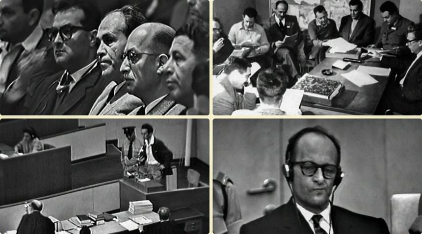 Eichman on Trial - Сценарий, монтаж и озвучка