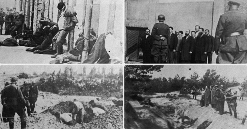 Хронология свидетельств 1941-1944 Холокост в СССР