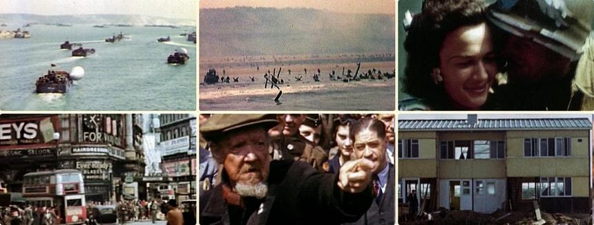 "V - D-Day in Colour. Цвет войны V. День ""D"" - Высадка в Нормандии"