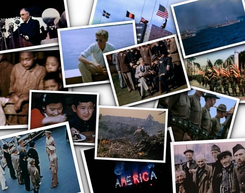 III – The American Story – США Во Второй Мировой Войне в цвете
