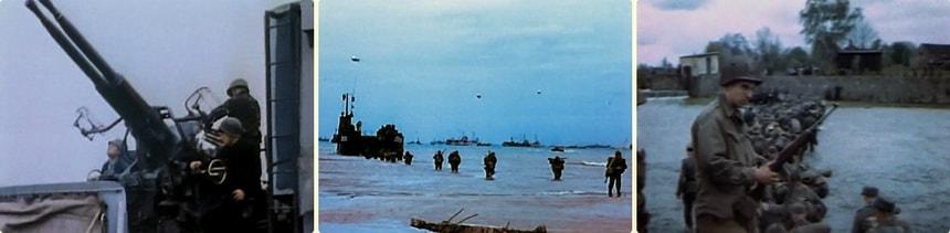 США Во Второй Мировой Войне в цвете