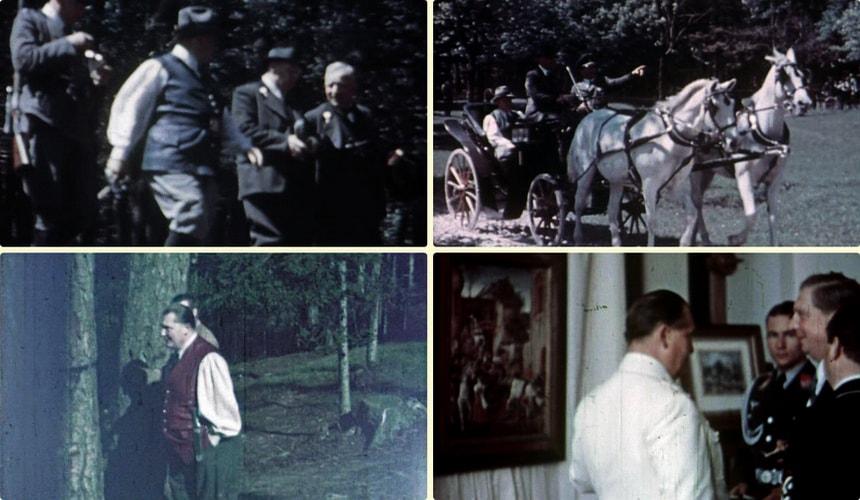 Домашняя кинохроника Германа Геринга