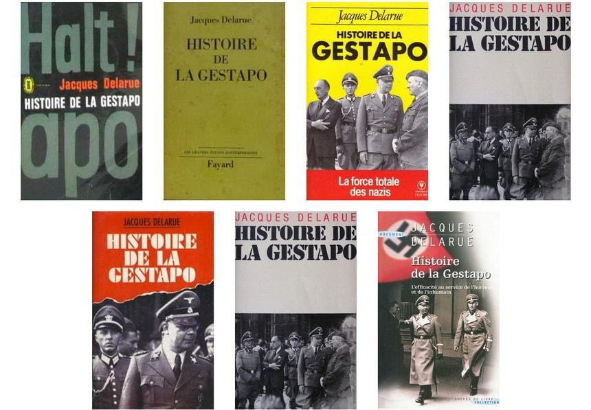 Книга История Гестапо Жака Деларю