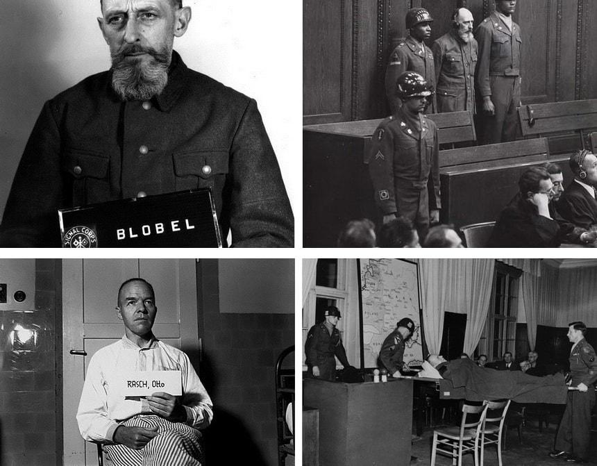 Суды над преступниками - военные преступники