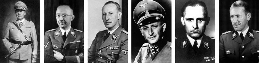 Портреты нацистских руководителей - История Гестапо
