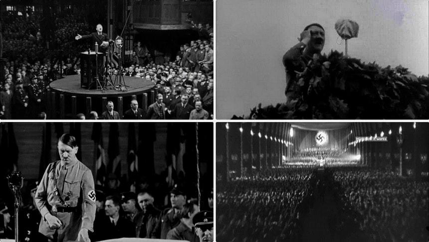 Темная харизма Адольфа Гитлера - связь с публикой