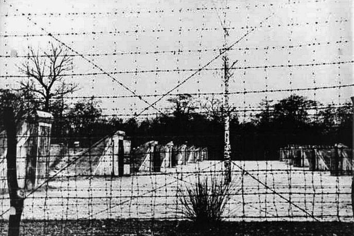 Фотография немецкого концлагеря Сырецкий в Киеве