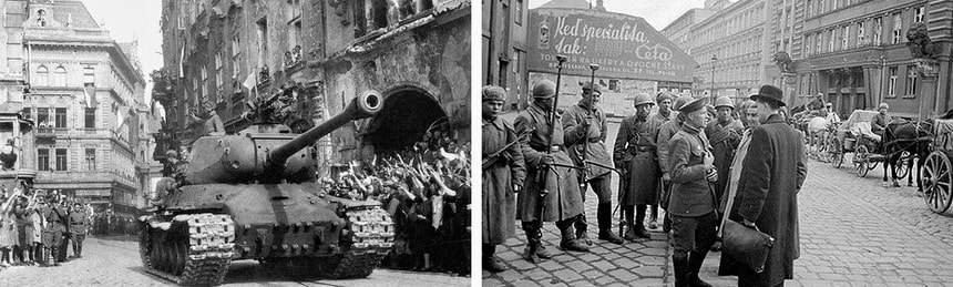 Liberation of Czechoslovak Republic in 1944-1945