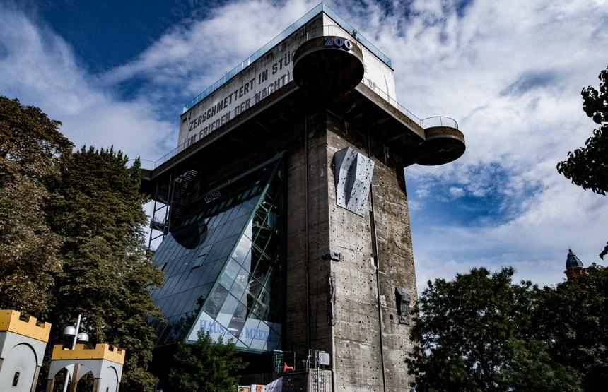 Stiftskaserne / EsterhazyparkFlak tower Vienna