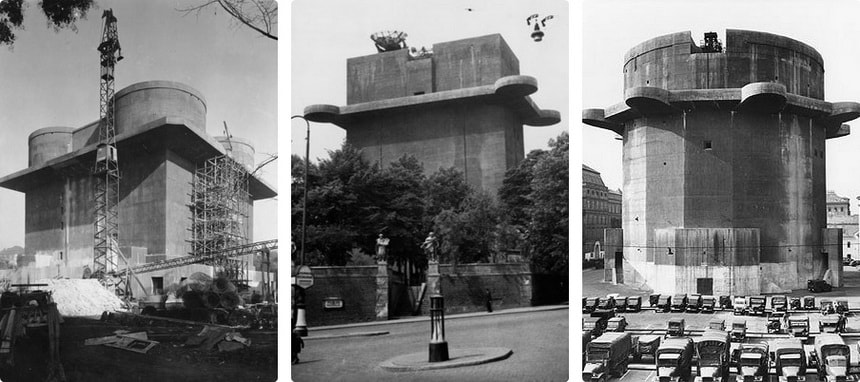 Nazi flak towers Vienna