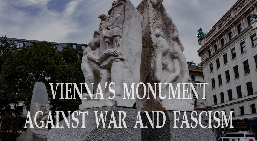 Monument against Fascism in Vienna (Mahnmal gegen Krieg und Faschismus)