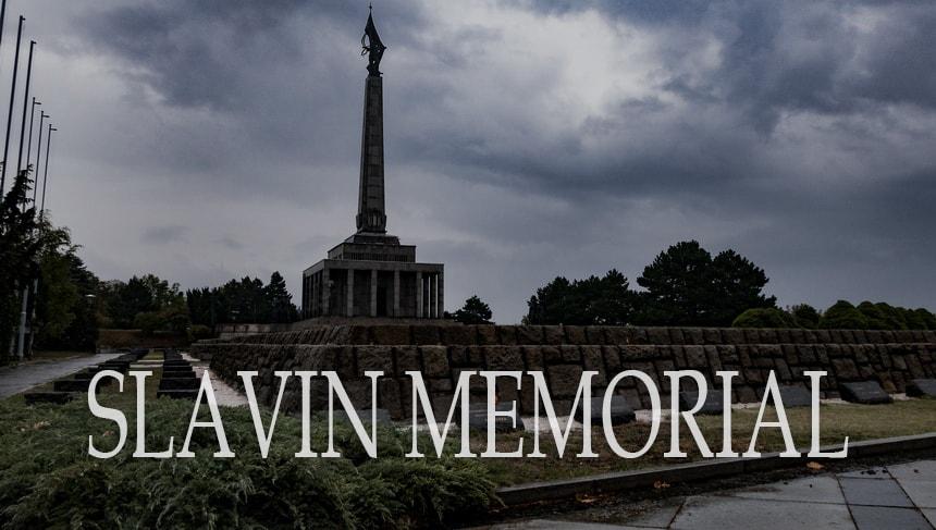 Мемориал советским воинам Славин в Братиславе Slavin Memorial
