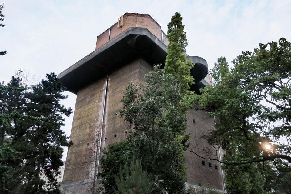 Fire control flak tower in Vienna