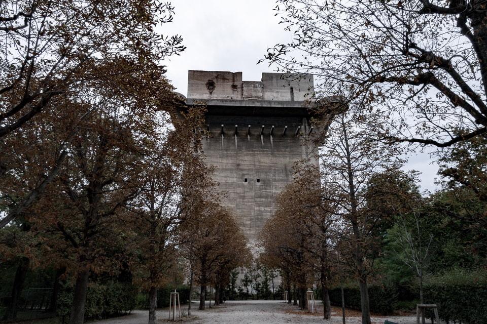 Fire Control Tower in Augarten Flakturme Vienna