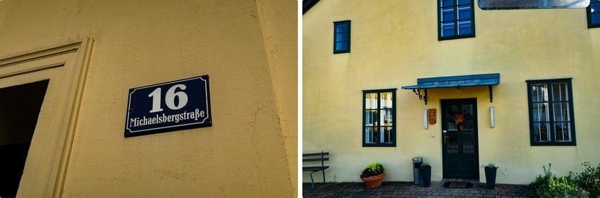 Hitler's house in Leonding, Austria